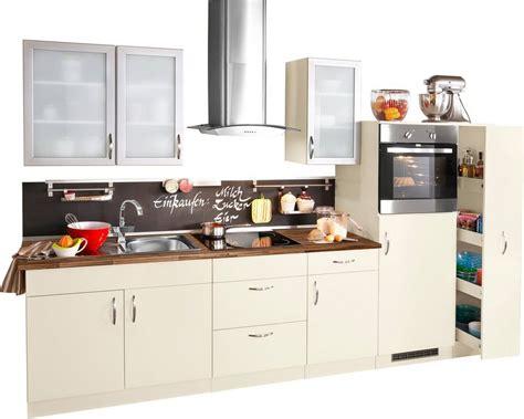 Küchenzeile Mit Elektrogeräten by K 252 Chenzeile Mit Elektroger 228 Ten 187 Peru 171 Breite 270 Cm