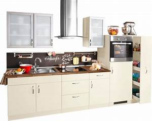Küchenzeile Mit Elektrogeräten Billig : k chenzeile mit elektroger ten peru breite 270 cm online kaufen otto ~ Markanthonyermac.com Haus und Dekorationen