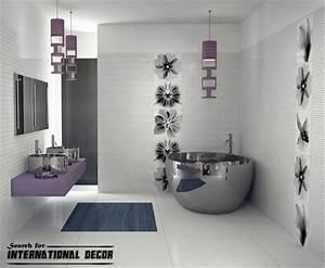 Latest trends for bathroom decor designs ideas for Modern bathroom decorating ideas