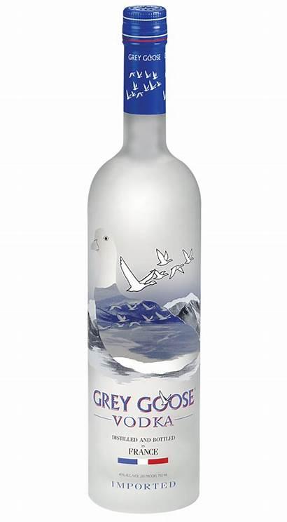 Vodka Goose Grey Transparent Clipart Bottle 70cl