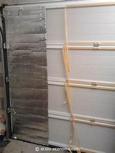 comment isoler son garage With porte de garage et isolation thermique porte intérieure