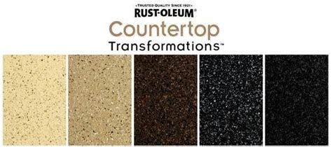 rust oleum countertop transformation kit choose from a variety of colors finishes to redo your