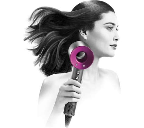 Buy DYSON Supersonic Hair Dryer   Iron & Fuchsia   Free