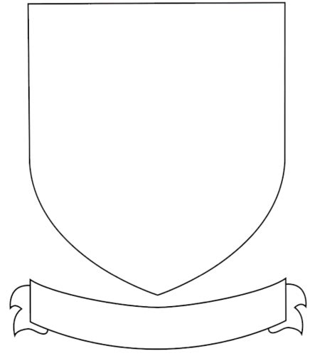 Coat Of Arms Template The Gallery For Gt Blank Family Crest Printable