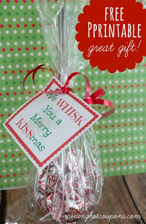 printable whisk label  whisk   merry kissmas