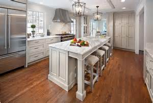 counter stools for kitchen island gray kitchen island with vintage bar stools transitional kitchen