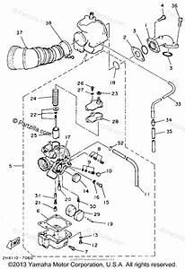 Yamaha Atv 1987 Oem Parts Diagram For Air Filter