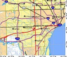 Dearborn Zip Code Map | Current Red Tide Florida Map