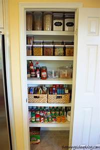 15 organization ideas for small pantries With what kind of paint to use on kitchen cabinets for big letter stickers
