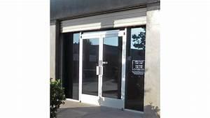 Aluminum Door: Narrow Stile Aluminum Door