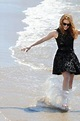 Jessica Chastain on the Beach During the 67th ...