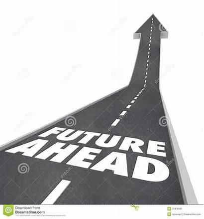 Ahead Road Clipart Future Tomorrow Arrow Planning