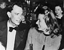 Peter Lindstrom Smiling at Ingrid Bergman — Blue Light Lady