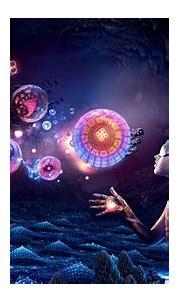 digital Art, Fantasy Art, Women, Nature, Glowing, Cave ...