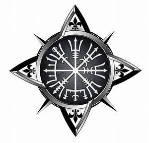 Compas De Vegvisir : vegvisir compass tattoo by akoyma on deviantart ~ Melissatoandfro.com Idées de Décoration