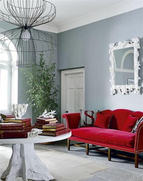 Wohnzimmer Grau Rot by 1001 Ideen Zum Thema Welche Farbe Passt Zu Rot
