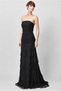 c39est ma robe jay ahr robe longue dentelle et lurex With robe longue noire fendue