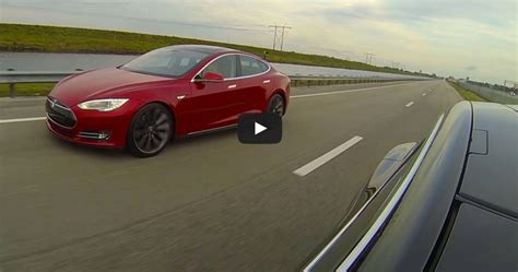 21 Excellent Tesla Model S P85d V Model S P85 Drag Race