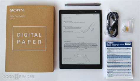 Review Of The Sony Digital Paper Dptcp1