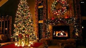 Christmas Holiday Decorations Desktop Wallpaper