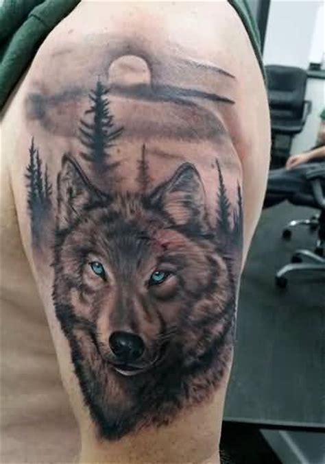 mind blowing wolf face tattoo design ideas golfiancom