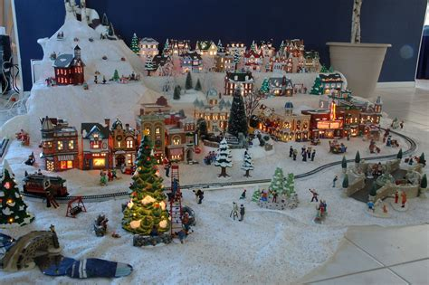 complete christmas village sets fishwolfeboro