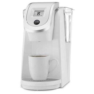 Keurig coffee maker is the name of an incredible process for preparing the best cup of coffee for you. Keurig K200 Coffee Maker, White | Pod coffee makers, Coffee maker, Keurig