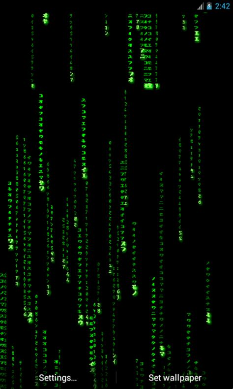 matrix  wallpaper   real feel android forums