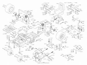 Dixon Kodiak 50  2005  Parts Diagram For Chassis