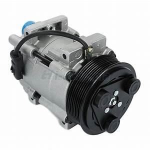 A  C Compressor  U0026 Clutch For 06