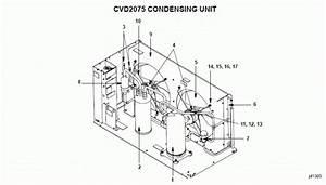 Manitowoc Cvd2075 Condensing Unit Parts Diagram