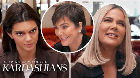 Khlo Kardashian Kendall Jenner Cant Believe Kris Sex