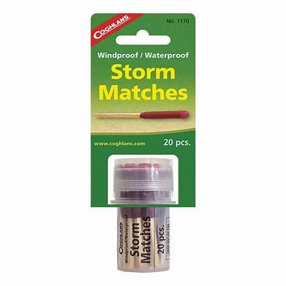 Matches Storm Waterproof Windproof Wind Coghlan Lighting