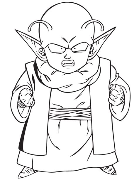 Dragonballz - Free Colouring Pages