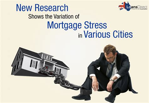 A New Research Shows The Variation Of Mortgage Stress In