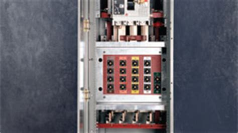 connect switchboard for emergency generator connection