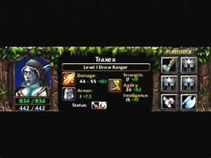 Traxex The Drow Ranger Item Build YouTube