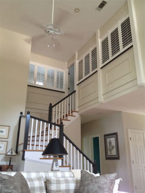 pin  marci langley  lakeside life loft railing loft