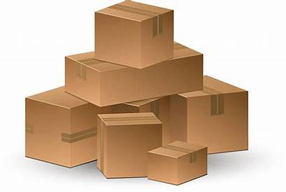 Boxes Cardboard Vector Stacking Box Corrugated Clip