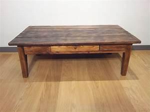 Table En Bois Massif Ancienne : table basse ancienne en bois 450 euros vendue deco pinterest tables basses anciennes ~ Teatrodelosmanantiales.com Idées de Décoration