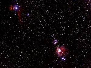 Great Orion Nebula, Horsehead Nebula, Flame Nebula ...