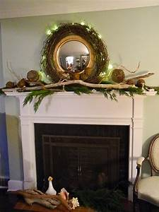 Driftwood, Mantle, To, Add, Rustic, Accent, U2013, Homesfeed