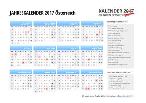 kalender oesterreich