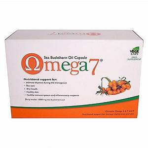 Pharma Nord Omega 7 - Sea Buckthorn Oil