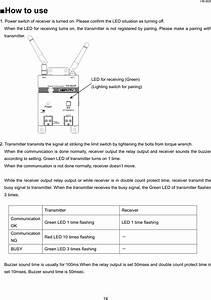 Herutu Electronics Tw800t Pokayoke Transmitter User Manual