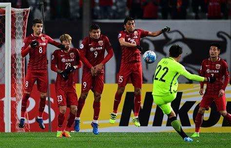 Afc Champions League 2017 Shanghai Sipg And Jiangsu