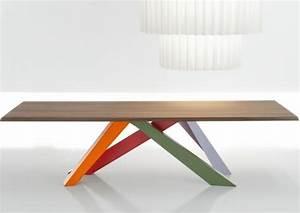 Spyder Wood Tisch : esstisch modern bunte beine italienische designer haus pinterest esstisch modern ~ Markanthonyermac.com Haus und Dekorationen