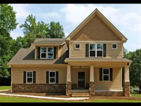 North Carolina New Home Exterior Style Ideas  Youtube