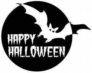 Happy Halloween Clipart Black And White | Clipart Panda ...