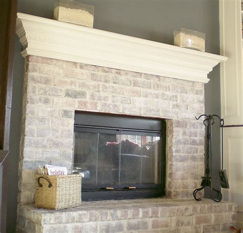 whitewash brick fireplace project 2011 whitewash brick it cleverly